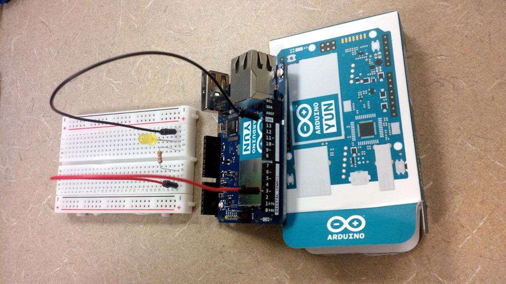 Arduino controlling leds remotely wi fi using