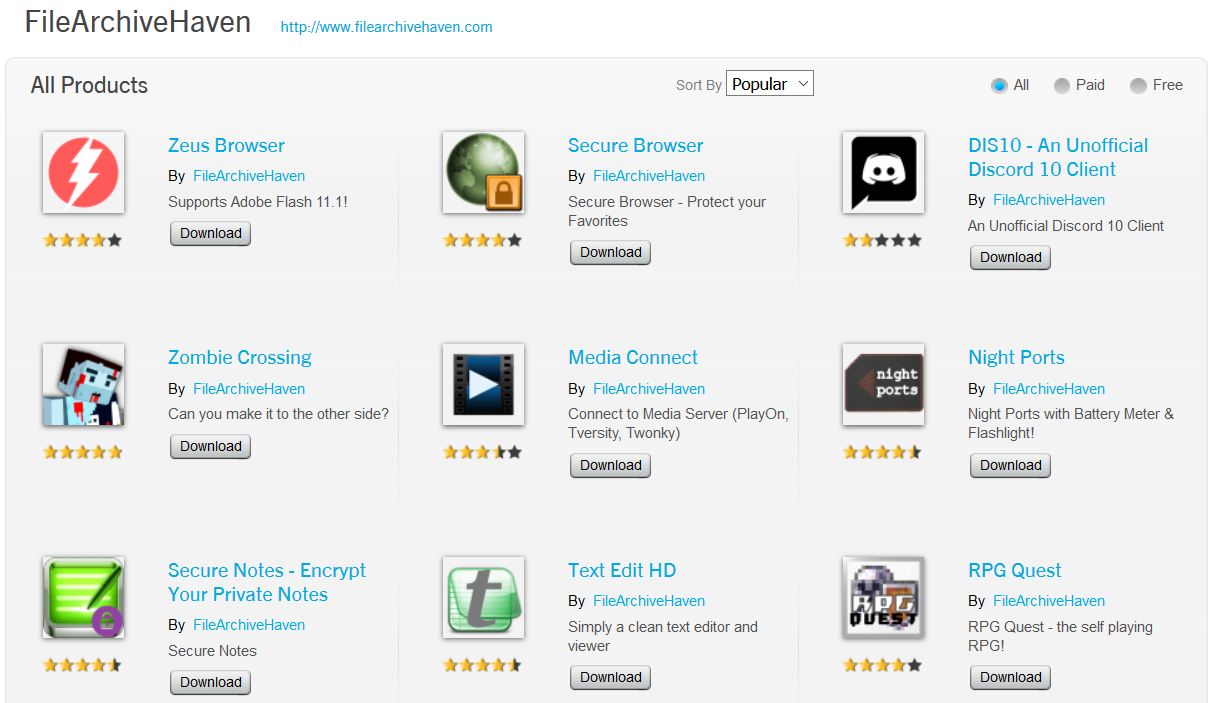 apps free download for blackberry