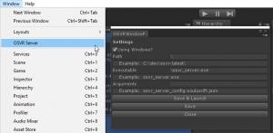 OSVRServer-Editor